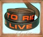 ремень - Live to Ride 1